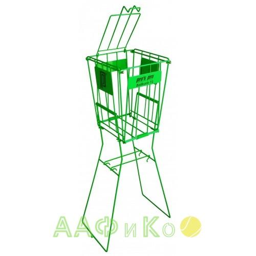 Корзина Pros Pro для теннисных  мячей  Ball Basket 72 зеленая