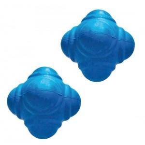 Мяч для тренировки реакции  7 см синий мягкий