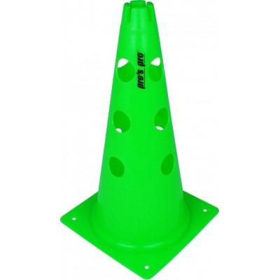 Конус маркировочный с отверстиями 38 см зеленый
