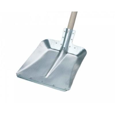 Лопата совковая, алюминиевая, многофункциональная 370х270 мм