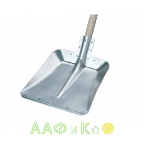 Лопата совковая, алюминиевая, многофункциональная 380х380 мм