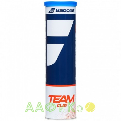 Мячи теннисные Babolat TEAM CLAY X4