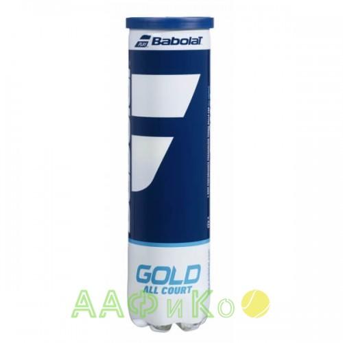 Мячи теннисные Babolat GOLD ALL COURT X4