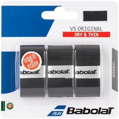 Намотка Babolat TOUR ORIGINAL X3 (чёрный) 3 шт.