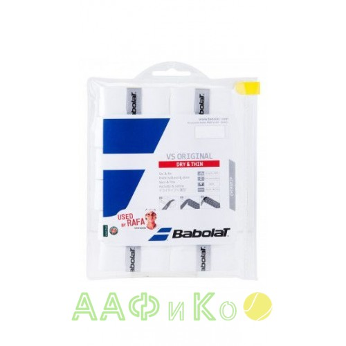 Намотка для теннисных ракеток Babolat VS ORIGINAL X12 (Упаковка, 12 шт.)