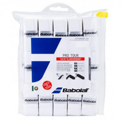 Намотка Babolat PRO TOUR X30 (белый) 30 шт.