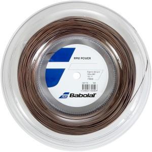 Струны теннисные Babolat RPM POWER 1.25/200 M (коричневый)