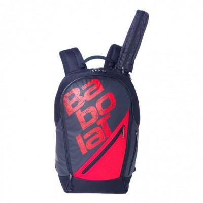 Рюкзак-сумка для теннисных ракеток Babolat BACKPACK EXPAND TEAM LINE (чёрный/красный)