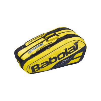 Чехол-сумка для ракеток Babolat RH X6 PURE AERO (жёлтый/чёрный)