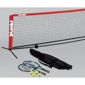 Сетка + набор ракетки, мячи, Bimbi Small Court Tennis Net, 3 m Street Set