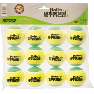 Мячи теннисные Tennisball Balls Unlimited Stage 1