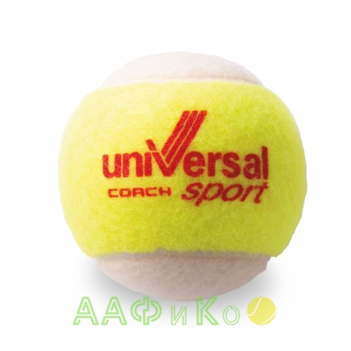 Мячи теннисные Universal Sport Coach