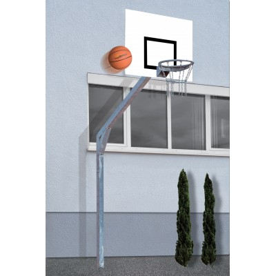 Щит баскетбольный с корзиной Basketball System Court Royal with Aluminium Board 120 x 90 cm