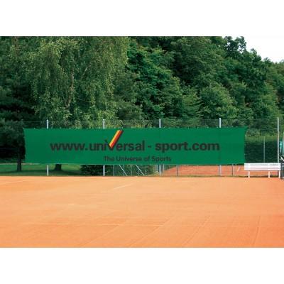 Фон защитный с рекламой Windscreen Advertising Superprinted