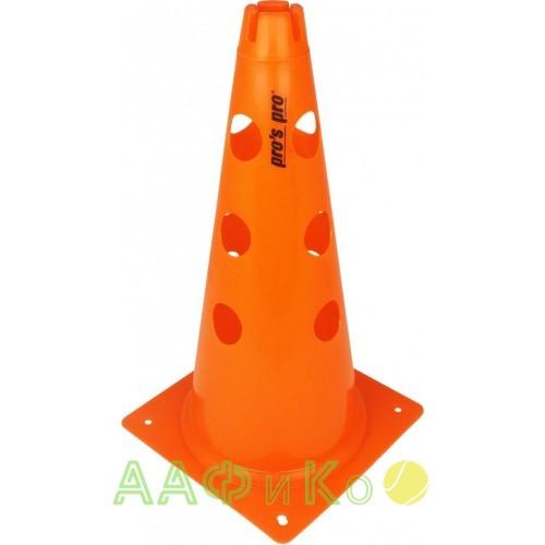 Конус маркировочный с отверстиями 38 см оранжевый