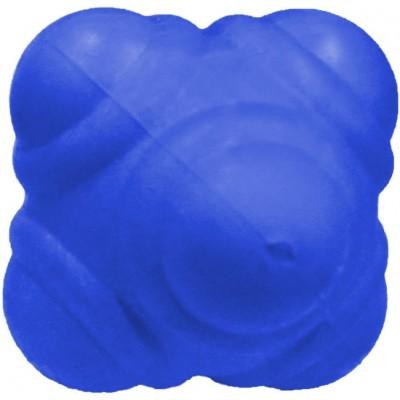 Мяч для тренировки реакции  10см синий мягкий